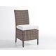South Sea Rattan Del Ray Outdoor Side Chair in Chestnut (Set of 2 ) 76620