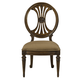 Fine Furniture Belvedere Oval Back Side Chair in Amalifi (Set of 2) 1150-824