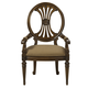 Fine Furniture Belvedere Oval Back Arm Chair in Amalifi (Set of 2) 1150-825