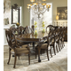 Fine Furniture Belvedere 9 Piece Leg Dining Room Set in Amalifi