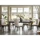Universal Furniture Curated Tremont 7-Piece Rectangular Dining Set in Graphite