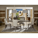 Universal Furniture Curated Brighton 5-Piece Oval Dining Set in Brownstone