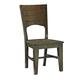 John Thomas Furniture Canyon Full Dining Side Chair in Graphite (Set of 2) C11-48B