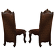 Acme Versailles Side Chair in L.Brown/Cherry Oak (Set of 2) 61102 SPECIAL