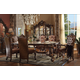 Acme Versailles 7-Piece Rectangular Dining Set in Cherry Oak