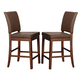 Alpine Furniture Caldwell Barstool (Set of 2) in Antique Cappuccino 6079-04