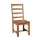 Alpine Furniture Shasta Wooden Side Chair (Set of 2) in Salvaged Natural ORI-913-02