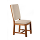 Alpine Furniture Shasta Upholstered Side Chair (Set of 2) in Salvaged Natural ORI-913-05