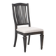 Magnussen Sutton Place Upholstered Dining Chair in Weathered Charcoal (Set of 2) D3612-62