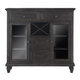 Magnussen Sutton Place Server in Weathered Charcoal D3612-15