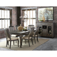 Magnussen Sutton Place 7pc Rectangular Dining Set in Weathered Charcoal