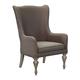 Magnussen Hancock Park Host Chair in Weathered Oak (Set of 2) D3681-66