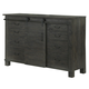 Magnussen Abington Wood Server in Weathered Charcoal D3804-15