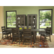 Magnussen Abington 7pc Rectangular Dining Set in Weathered Charcoal