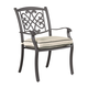 Burnella Outdoor Chair w/ Cushion in Beige/Brown (Set of 4) P456-601A