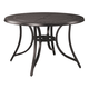 Burnella Outdoor Round Dining Table in Beige/Brown P456-615