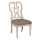 American Drew Southbury Cortona Side Dining Chair in Fossil and Parchment (Set of 2) 513-636