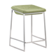 Zuo Modern Lids Counter Stool in Green 300036 (Set of 2)