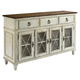 American Drew Southbury Sideboard in Fossil and Parchment 513-857