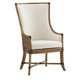 Tommy Bahama Home Twin Palms Balfour Host Chair in Medium Umber 01-0558-885-01