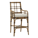 Tommy Bahama Home Twin Palms Lands End Bar Stool in Medium Umber (Set of 2) 558-896-01