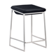 Zuo Modern Lids Counter Stool in Dark Gray 300037 (Set of 2)