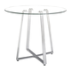 Zuo Modern Lemon Drop Counter Table in Chrome 601102