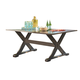 Moresdale Outdoor Rectangular Dining Table in Brown P457-625