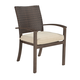 Moresdale Outdoor Chair with Cushion in Brown (Set of 4) P457-601A
