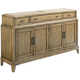 American Drew Evoke Sideboard in Barley 509-857