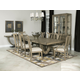 American Drew Evoke 7pc Trestle Dining Set in Barley