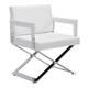 Zuo Modern Yes Dining Chair in White 100383
