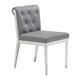 Zuo Modern Aris Dining Chair in Gray 100331 (Set of 2)
