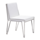 Zuo Modern Kylo Dining Chair in White 100334 (Set of 2)