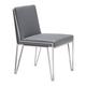Zuo Modern Kylo Dining Chair in Gray 100335 (Set of 2)
