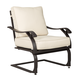 Wandon Spring Lounge Chair in Beige/Brown (Set of 4) P454-860