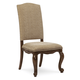 A.R.T. La Viera Upholstered Side Chair in Chestnut (Set of 2) 225206-2107