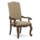 A.R.T. La Viera Upholstered Arm Chair in Chestnut (Set of 2) 225207-2107