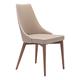Zuo Modern Moor Dining Chair in Beige 100277 (Set of 2)