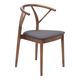Zuo Modern Communion Dining Chair in Espresso 100156 (Set of 2)