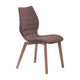 Zuo Modern Aalborg Dining Chair in Tobacco 100056 (Set of 2)