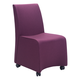 Zuo Modern Whittle Dining Chair in Purple 100267 (Set of 2)