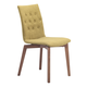 Zuo Modern Orebro Dining Chair in Pea 100072 (Set of 2)