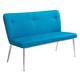 Zuo Modern Hope Bench in Blue & Gray 100241
