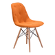 Zuo Modern Probability Dining Chair in Orange 104158