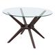 Zuo Modern Cell Dining Table in Dark Walnut 100198