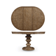A.R.T Pavilion Adjustable Height Round Dining Table in Rustic Pine 229225-2608