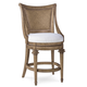 A.R.T Pavilion Woven Back High Dining Chair in Rustic Pine (Set of 2) 229209-2608