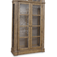 A.R.T Pavilion Curio China Base in Rustic Pine 229242-2608BS