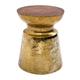 Zuo Modern Taj Stool in Brass 100163